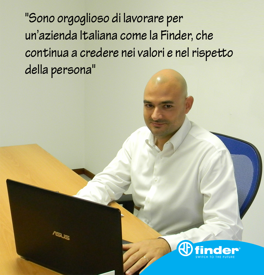 Gianluca Sergi - Responsabile filiale Finder Sardegna