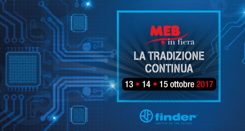 Finder MEB in fiera 2017